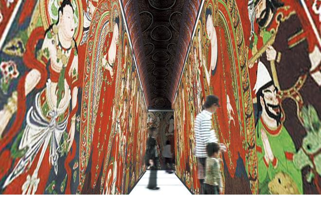Цифровой театр Источник: http://museum.ryukoku.ac.jp